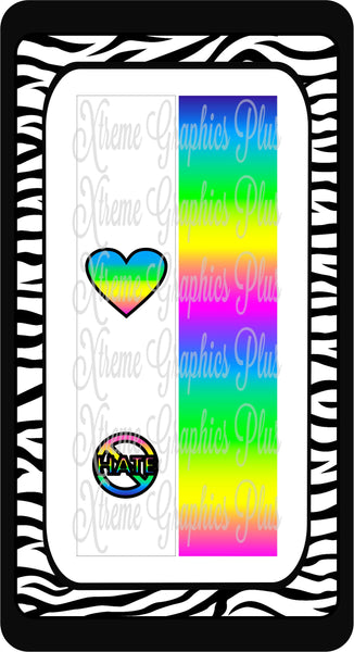 Stop Hate Sublimation Bow Strips Download