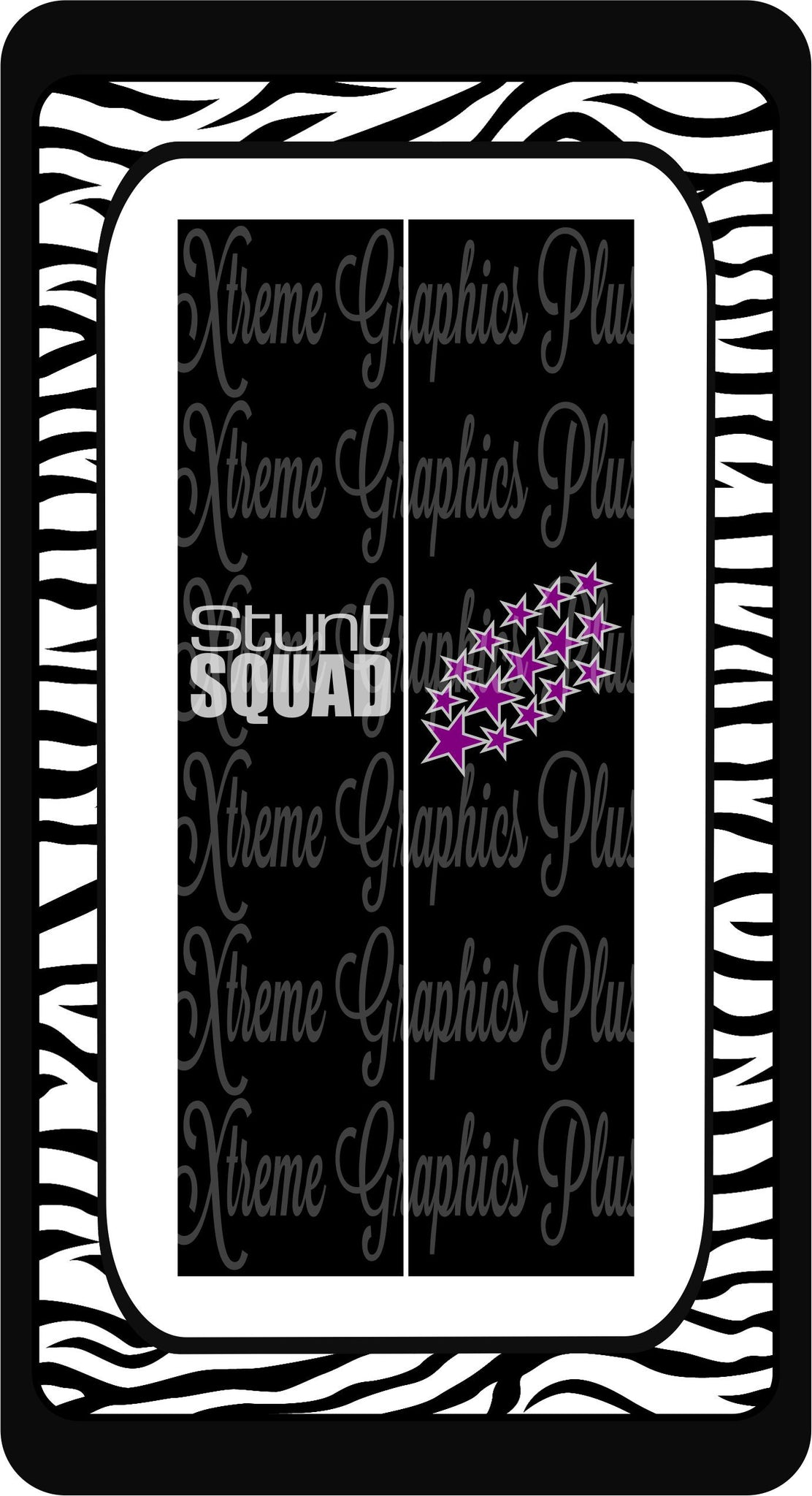 Stunt Squad Sublimation Bow Strips Download