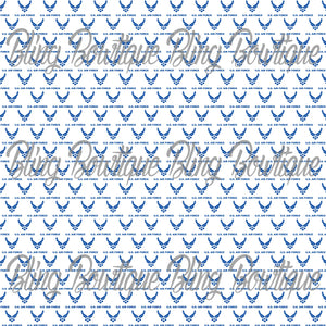 US Air Force Glitter Canvas, Regular Canvas, Faux Leather For Bows