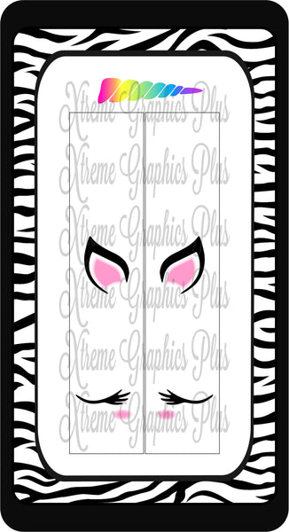 Unicorn Sublimation Bow Strips Download