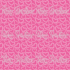 Valentines 11 Glitter Canvas, Regular Canvas, Faux Leather For Bows