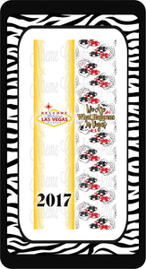 Vegas Ready to Press Sublimation Bow Strips