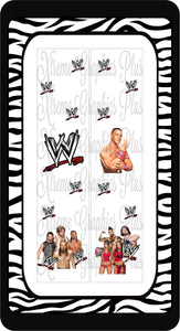 WWE Sublimation Bow Strips Download