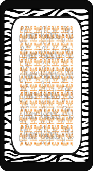 Whataburger Sublimation Bow Strips Download