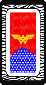 Wonder Woman Sublimation Bow Strips Download