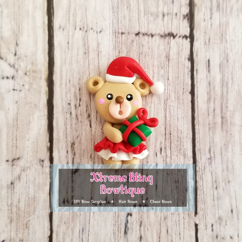 Christmas Bear Girl Clay (Includes 1 Clay)(6A)