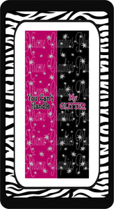 You Can't Handle My Glitter 2 Sublimation Bow Strips Download