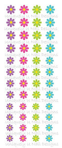 Flowers Set 1 Nail Decals