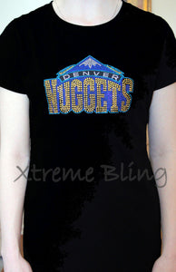 Denver Nuggets Rhinestone T-Shirt