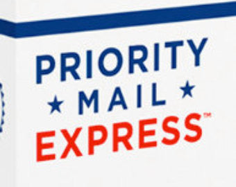 USPS Priority Mail Express Shipping Upgrade For Nail Decals