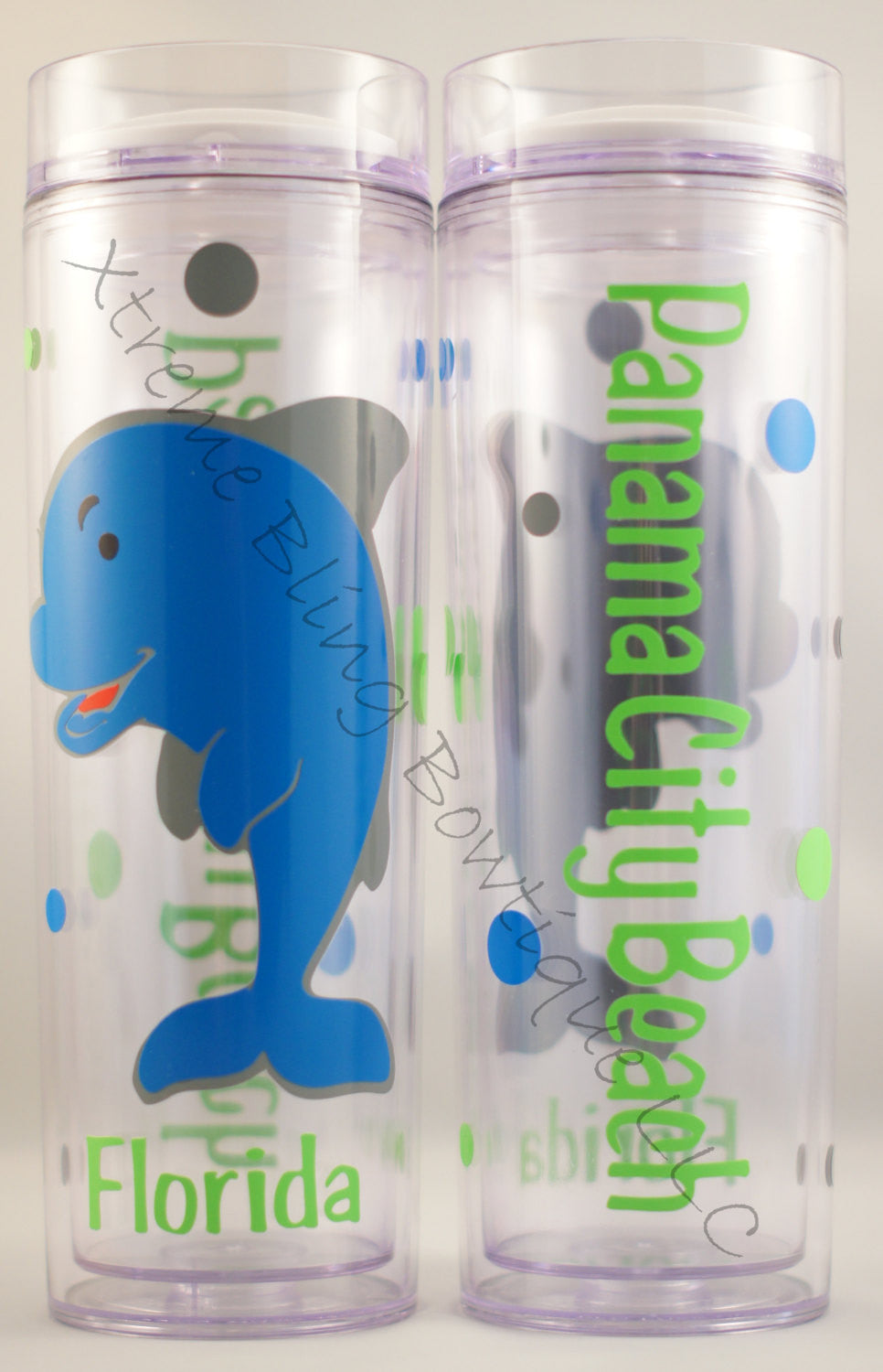 Dolphin Double Wall Waterbottle