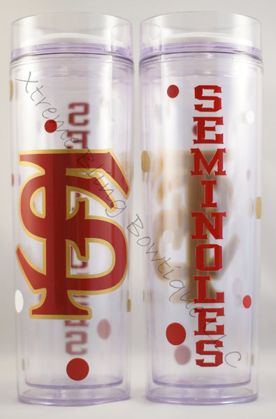 Florida State Seminoles Double Wall Waterbottle