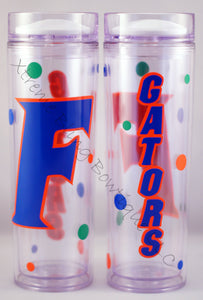 Florida Gators 16 oz Double Wall Acrylic Waterbottle