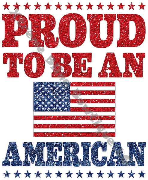 Proud To Be An American (GLITTER VINYL)