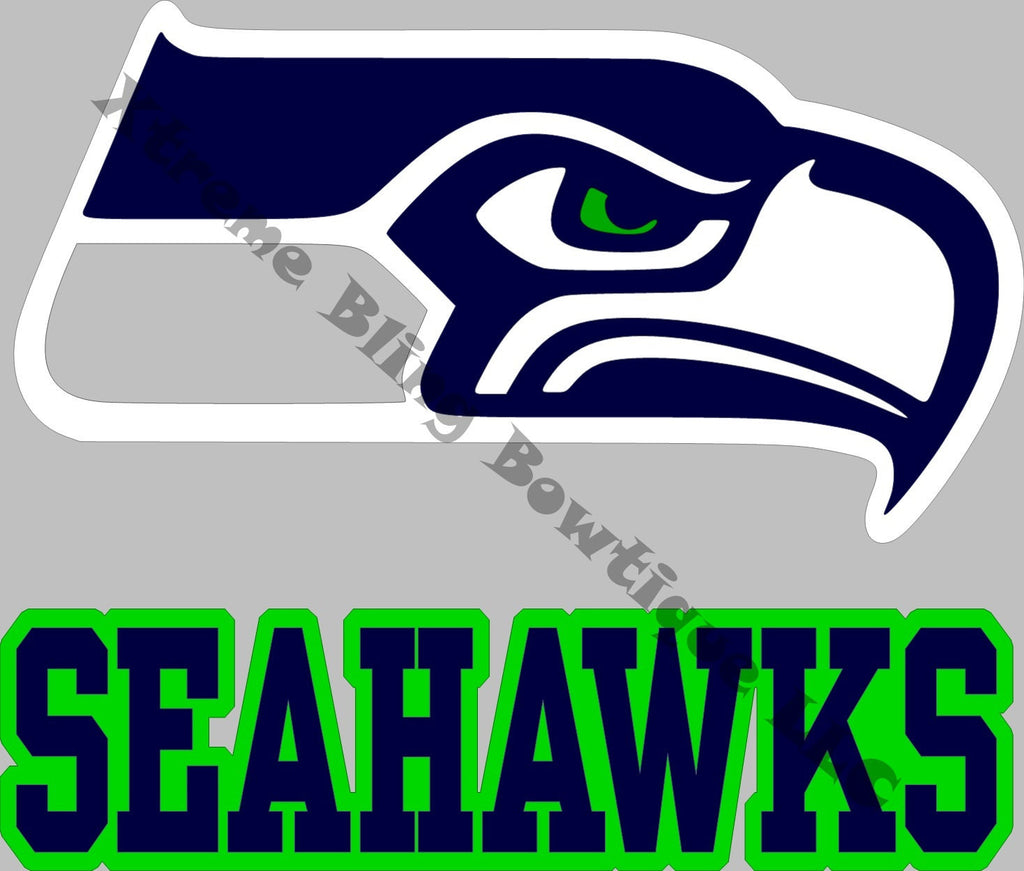 Seattle seahawks car decal xtreme bling bowtique llc seattle seahawks car decal biocorpaavc Image collections