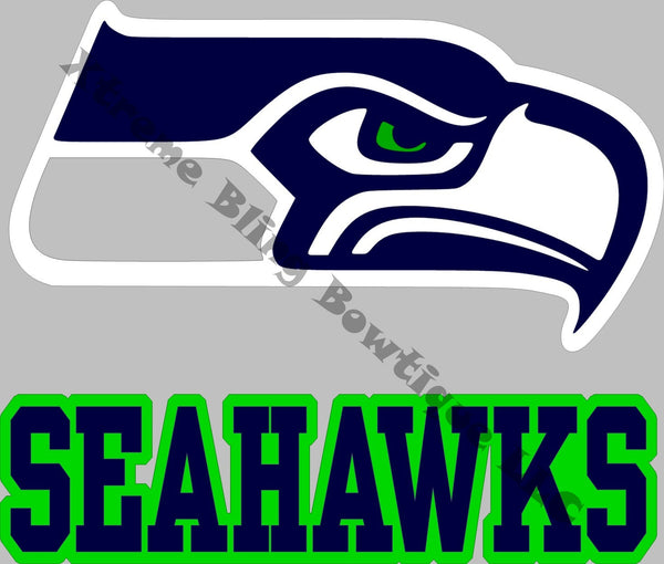 Seattle Seahawks Car Decal