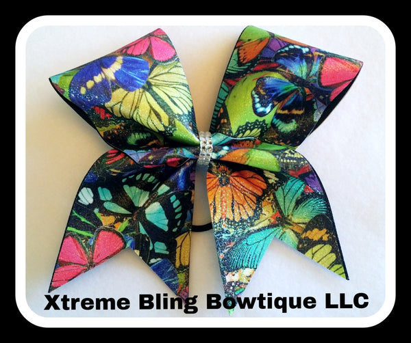 Cheer Bow --Butterfly Cheer Bow