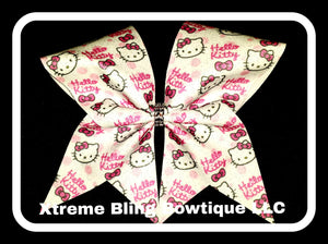 Cheer Bow --Hello Kitty Cheer Bow