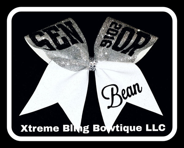 Cheer Bow --Senior 2016  Cheer Bow