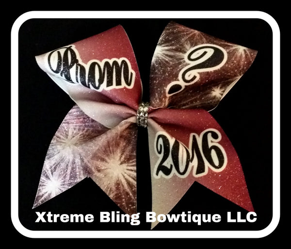 Cheer Bow --Prom Cheer Bow