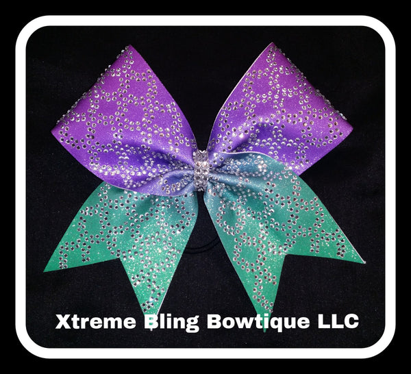 Cheer Bow-Ultimate Mermaid Rhinestone Cheer Bow