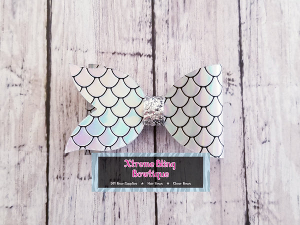 Mermaid/Fish Tail Bow Die