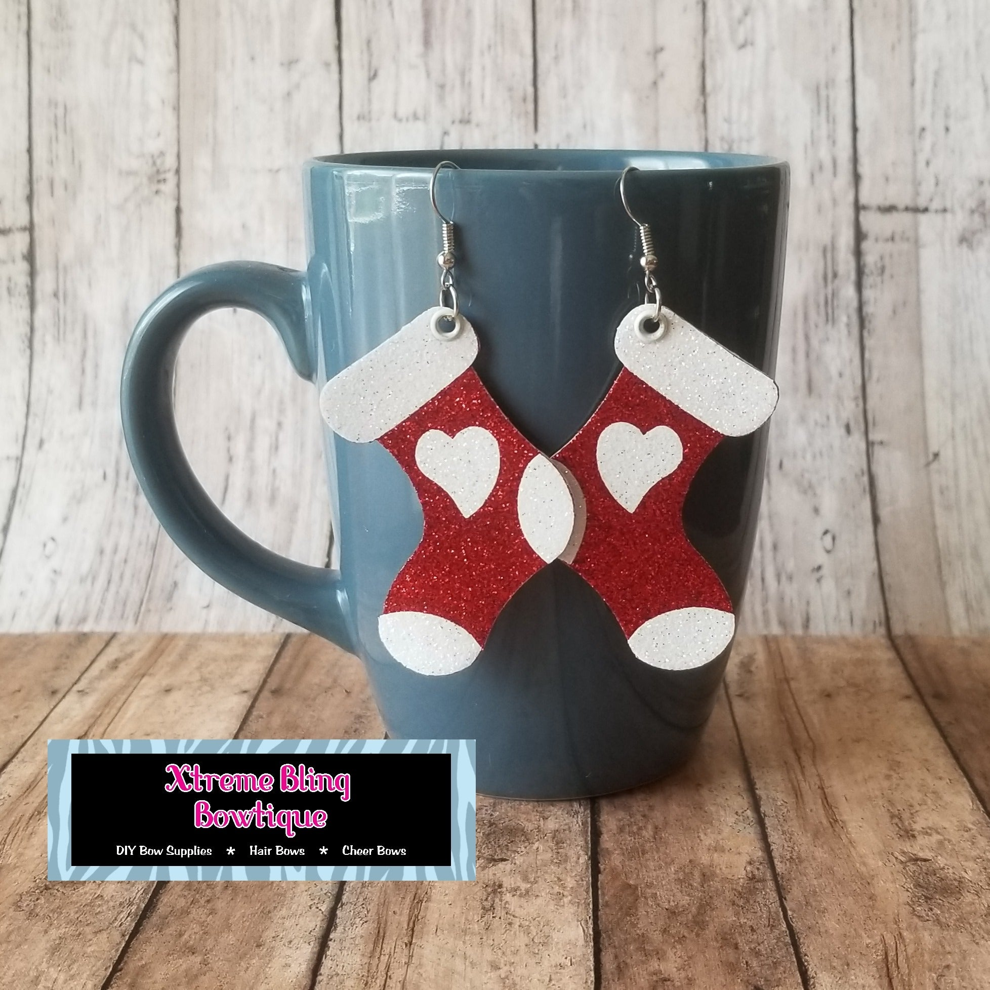 Christmas Stockings Earring Die