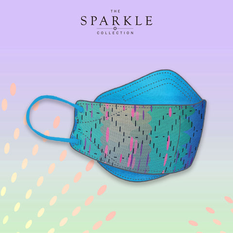 SUNRISE SUNSET | Designer Mask | SPARKLE BY KAREN CHAN x masklab®️ fashion mask