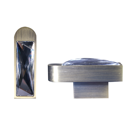 【MIYA】Bronze Knob and Handle with Swarovski® Crystal