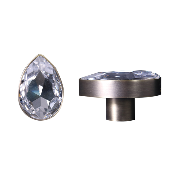 【PEARE】Bronze Knob and Handle with Swarovski® Crystal