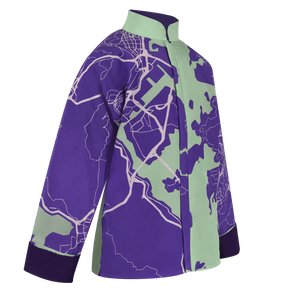 【MAP OF HK】100% Silk Tang Jacket-Junior - THE SPARKLE COLLECTION by GERMAN POOL