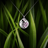 【FULL MOON】925 Sterling Silver Aromatherapy Locket with Swarovski® Crystal