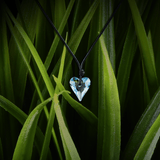 【HEART】Heart-shape Swarovski® Crystal Necklace in Blue
