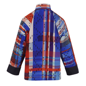 【HK SPIRIT】100% Silk Tang Jacket-Junior - THE SPARKLE COLLECTION by GERMAN POOL