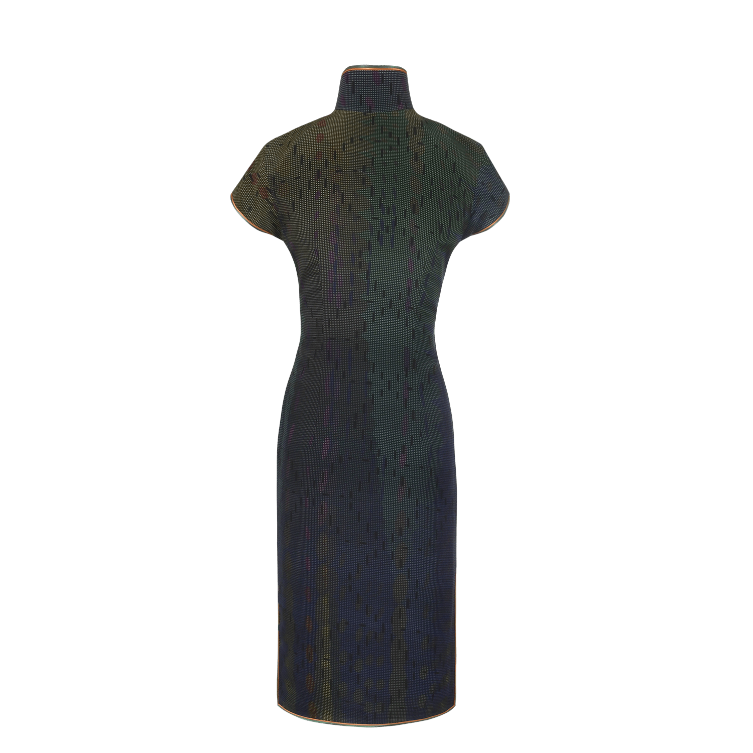 【SUNRISE SUNSET】100% Silk Cheongsam - THE SPARKLE COLLECTION by GERMAN POOL