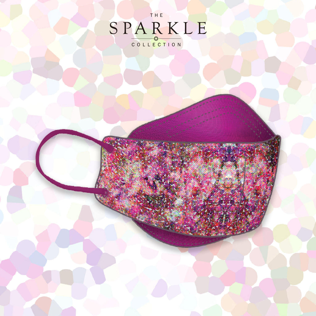 LOVE GARDEN | Designer Face Mask | SPARKLE BY KAREN CHAN x masklab® fashion mask
