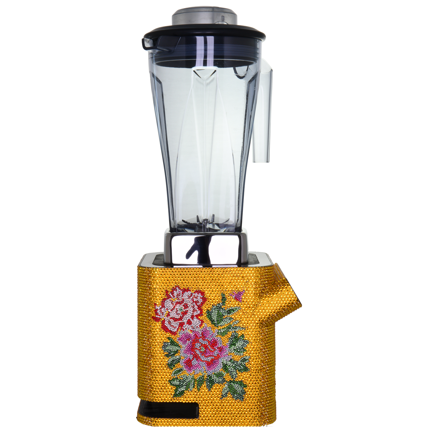 【PEONY】 Crystal Food Processor - THE SPARKLE COLLECTION by GERMAN POOL