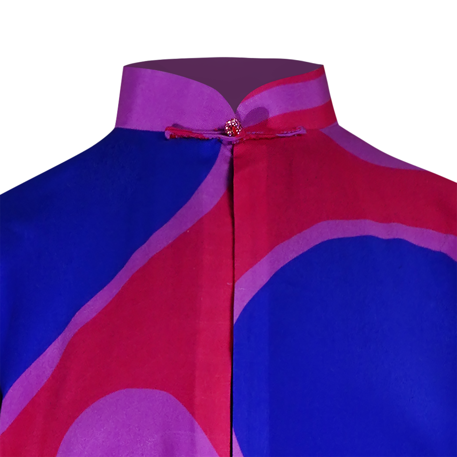 【PEARL OF HK】100% Silk Reversible Mini Tang Jacket - THE SPARKLE COLLECTION by GERMAN POOL