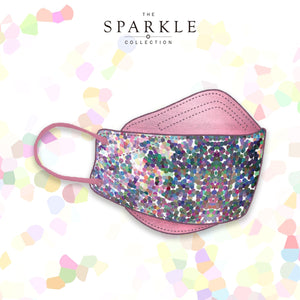 SPRING GARDEN | Designer Face Mask | SPARKLE BY KAREN CHAN x masklab® fashion mask