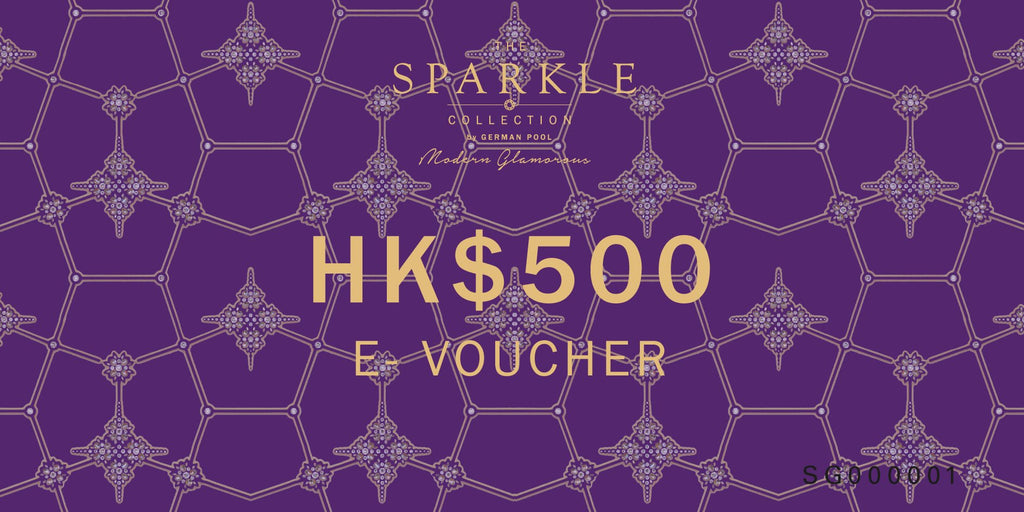 THE SPARKLE COLLECTION E-VOUCHER $500 - THE SPARKLE COLLECTION by GERMAN POOL