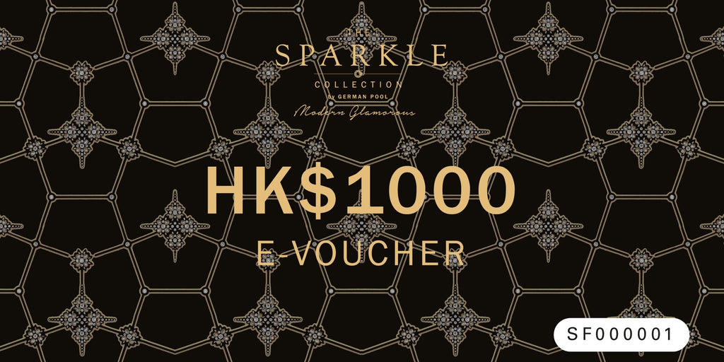 THE SPARKLE COLLECTION E-VOUCHER $1000 - THE SPARKLE COLLECTION by GERMAN POOL