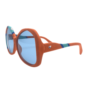 【METEOR】Hand-made 100% Silk-wrapped Sunglasses UV400 - THE SPARKLE COLLECTION by GERMAN POOL