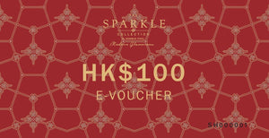 THE SPARKLE COLLECTION E-VOUCHER $100 - THE SPARKLE COLLECTION by GERMAN POOL