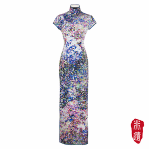 【GARDEN】Masterpiece Collection Haute Couture 100% Silk Cheongsam