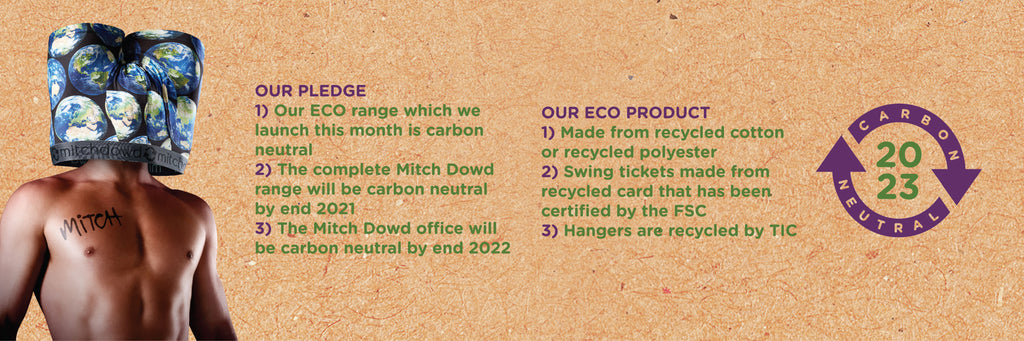 Eco Range | Recycled Cotton & Polyester Trunks