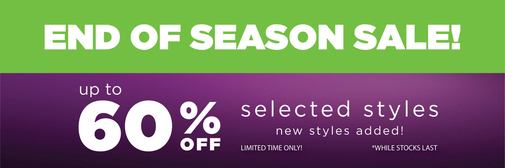 End of Season SALE | Up to 60% OFF Selected Styles