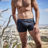 Men's Plain Dyed Eco Short Leg Trunk