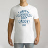 Men's Personalised Happy Father's Day Short Sleeve T-Shirt