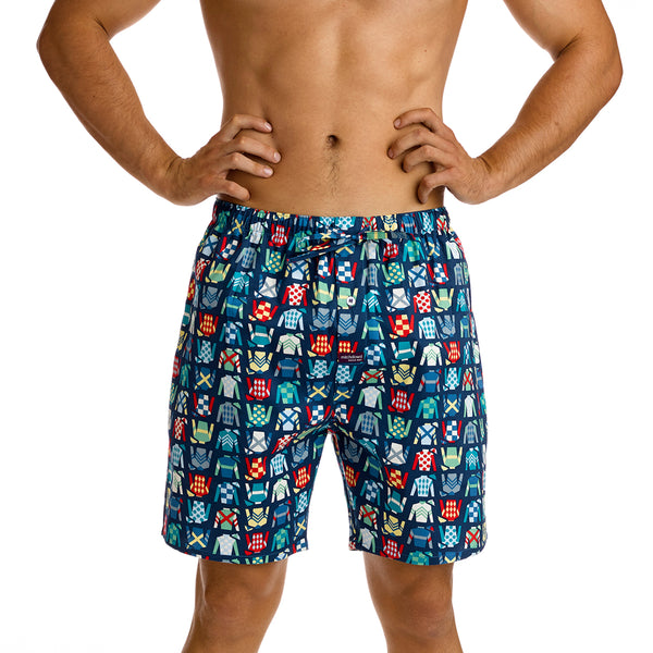 Men's Jockey Colours Mid Length Printed Pyjama Shorts