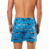 Men's Reef Sharks Printed Woven Boxer